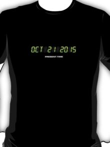 Oktober 21 2015 (Back to the Present) T-Shirt