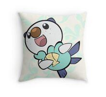 Fancy Oshawott Throw Pillow