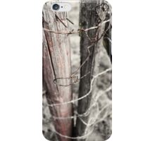 Points and Posts iPhone Case/Skin