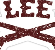 Stagger Lee - Crossed Rifles Edition Sticker