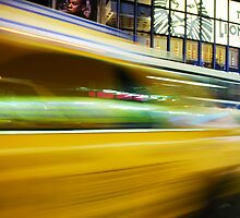 Yellow Cab by Lisa Michele Burns