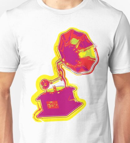 Psychedelic Gramophone Unisex T-Shirt