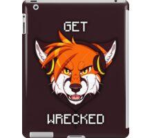 GET WRECKED - Fox iPad Case/Skin