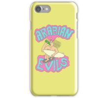 ARABIAN EVILS TEES SKATE PUNK GARAGE SURF iPhone Case/Skin