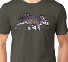 Purple and Green Pachyrhinosaurus T-Shirt