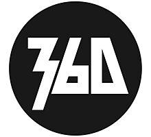 360 Rapper Logo  Photographic Print