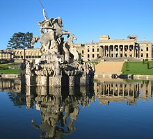 Witley Court Fountain by Spencer Trickett