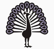 Peacock bird Kids Tee