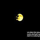 October moon by Cricket Jones