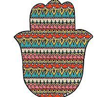 Patterned Hamsa by foreversarahx