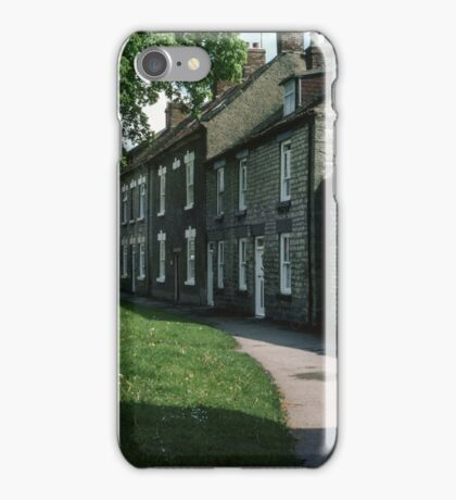 Houses Pickering North Yorkshire England 19840602 0114m iPhone Case/Skin