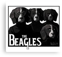 The Beagles Canvas Print