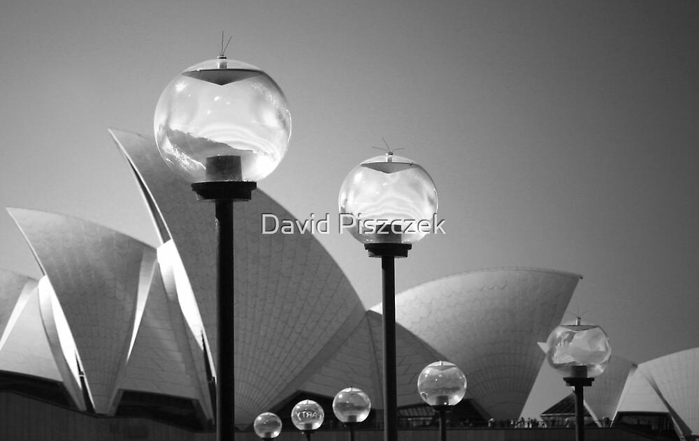 Lights At The Opera House by David Piszczek