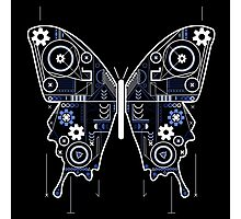 Geometric Butterfly Design Photographic Print