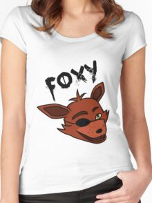 Foxy the Pirate Fox Women's Fitted Scoop T-Shirt