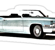 1969 Cadillac Convertible Sticker