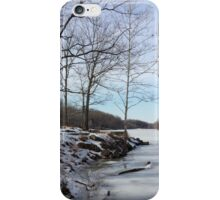 Relaxing by Lake Needwood iPhone Case/Skin