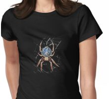 Earth Spider T Womens Fitted T-Shirt