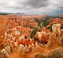 Bryce Canyon from Inspiration Point by Alex Preiss