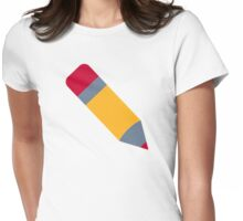 Pencil pen Womens Fitted T-Shirt