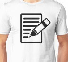 Pencil paper Unisex T-Shirt