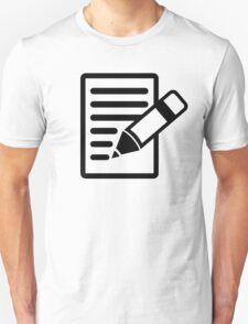 Pencil paper T-Shirt