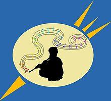 Cosmic Flute by WondraBox