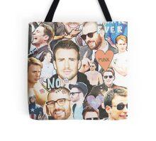 chris evans collage Tote Bag