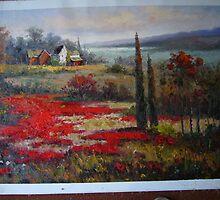 landsacpe painting by franfan