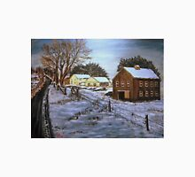 Winter Home and Barn Unisex T-Shirt
