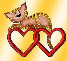 Purrnickerty Valentine Hearts by Purrnickerty