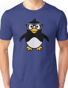 Penguin glasses Unisex T-Shirt