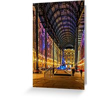 Hay's Galeria, London, England Greeting Card