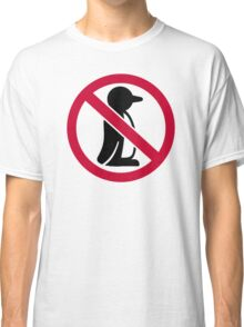 No penguin Classic T-Shirt
