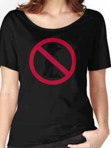No penguin Women's Relaxed Fit T-Shirt