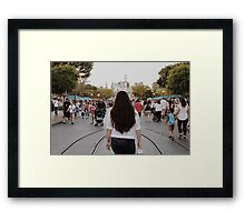 Disneyland Day Dream Framed Print