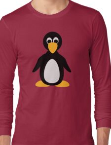 Comic penguin Long Sleeve T-Shirt