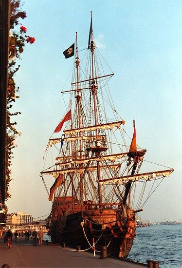 Tall Ship by Richard Hamilton-Veal