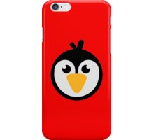Penguin head iPhone Case/Skin