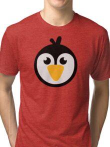 Penguin head Tri-blend T-Shirt