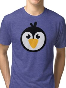 Penguin head Tri-blend T-Shirt