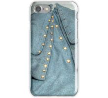 Authenic Officer's Coat, Civil War USA iPhone Case/Skin