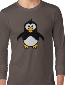 Comic penguin Long Sleeve T-Shirt