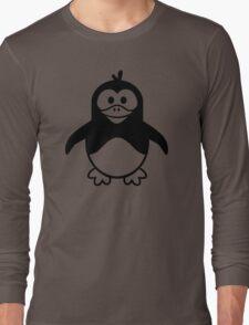 Black penguin Long Sleeve T-Shirt