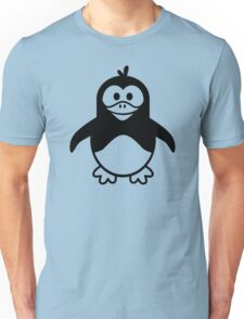 Black penguin Unisex T-Shirt