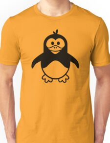 Black penguin Unisex T-Shirt