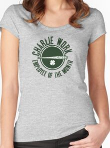 Charlie Work Employee of the Month Women's Fitted Scoop T-Shirt