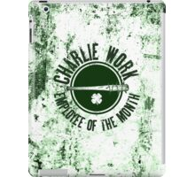 Charlie Work Employee of the Month iPad Case/Skin