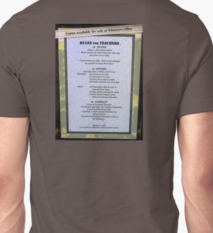Rules For Teachers T-Shirt