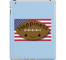 Happiness - Football iPad Case/Skin